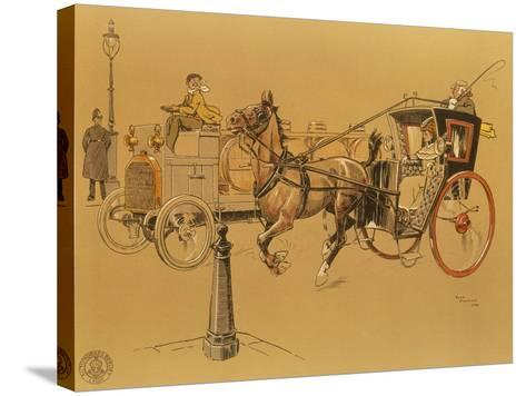 A Berliet Lorry, 1906--Stretched Canvas Print