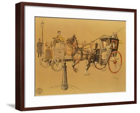 A Berliet Lorry, 1906--Framed Art Print