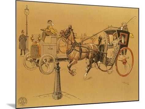 A Berliet Lorry, 1906--Mounted Giclee Print