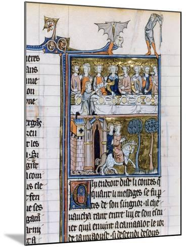 Banquet and Riders, C1280-1290--Mounted Giclee Print