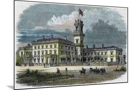 Government House, Melbourne, Victoria, Australia, C1880--Mounted Giclee Print