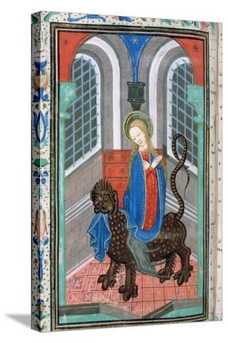 St Margaret, Late 15th Century--Stretched Canvas Print