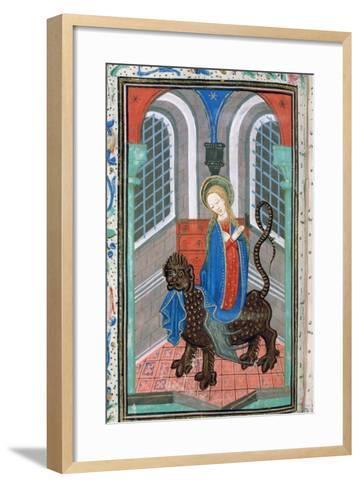 St Margaret, Late 15th Century--Framed Art Print