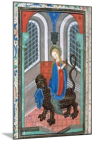 St Margaret, Late 15th Century--Mounted Giclee Print