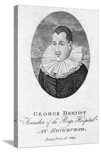 George Heriot (1563-162), Scottish Goldsmith and Philanthropist, 1791--Stretched Canvas Print
