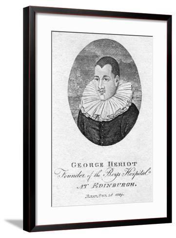 George Heriot (1563-162), Scottish Goldsmith and Philanthropist, 1791--Framed Art Print