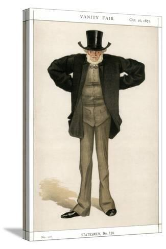 Newcastle on Tyne, Joseph Cowen, British Politician, 1872-Coide-Stretched Canvas Print