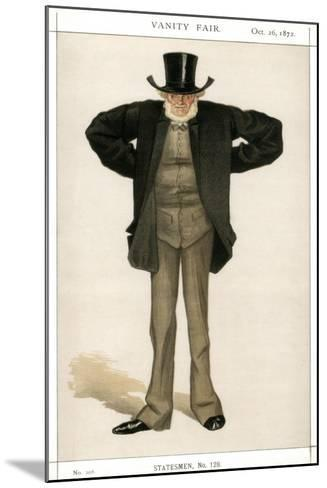 Newcastle on Tyne, Joseph Cowen, British Politician, 1872-Coide-Mounted Giclee Print