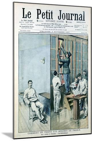 Cell and Library at the Prison at Fresnes, 1907--Mounted Giclee Print
