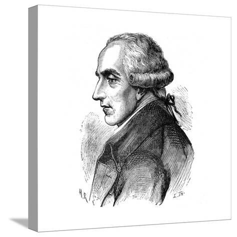 Pierre Simon Laplace, French Mathematician and Astronomer, 1881--Stretched Canvas Print