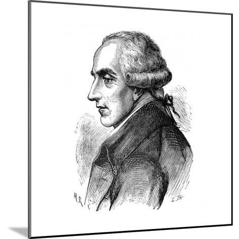 Pierre Simon Laplace, French Mathematician and Astronomer, 1881--Mounted Giclee Print
