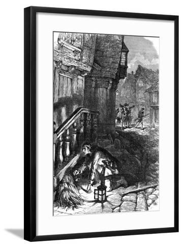 Detection of an Incendiary, American Revolutionary War, C1776--Framed Art Print
