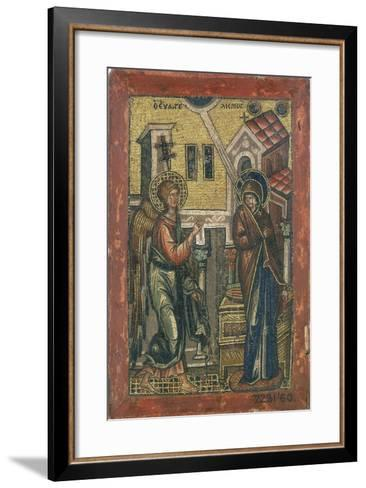 The Annunciation, Early 14th Century--Framed Art Print