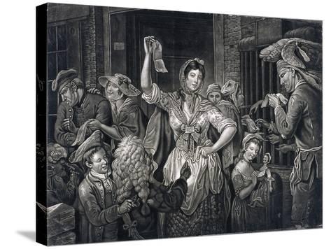 Campaign at Fleet Prison, London, C1770--Stretched Canvas Print