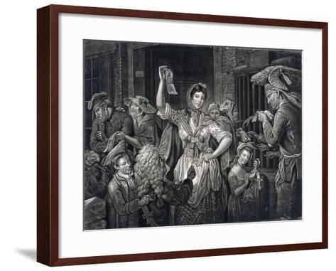 Campaign at Fleet Prison, London, C1770--Framed Art Print