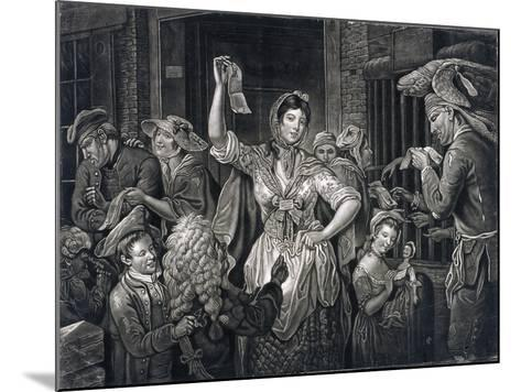 Campaign at Fleet Prison, London, C1770--Mounted Giclee Print
