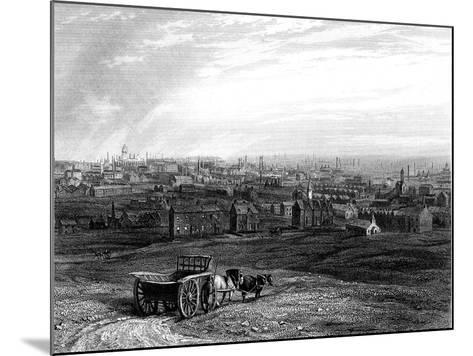 View of Leeds, Yorkshire, Early 19th Century--Mounted Giclee Print