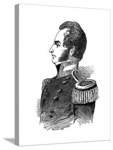 Robert John Le Mesurier Macclure, Pioneer Arctic Explorer, 1853--Stretched Canvas Print