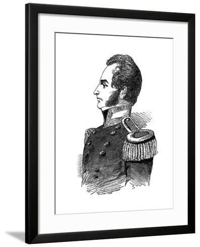 Robert John Le Mesurier Macclure, Pioneer Arctic Explorer, 1853--Framed Art Print