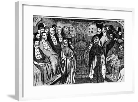 Resignation of Richard Ii, 1399, (C1902-190)--Framed Art Print