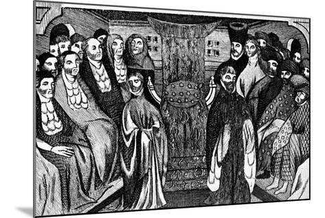 Resignation of Richard Ii, 1399, (C1902-190)--Mounted Giclee Print