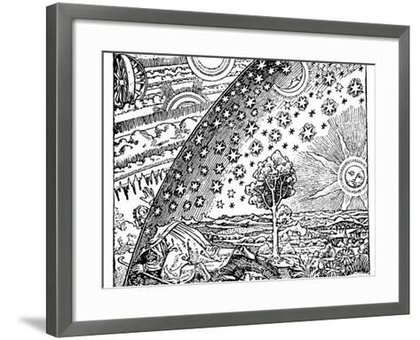 Reconstruction of a Medieval Conception of the Universe, 19th Century--Framed Art Print