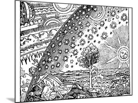 Reconstruction of a Medieval Conception of the Universe, 19th Century--Mounted Giclee Print