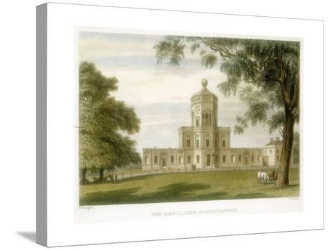 Radcliffe Observatory, Oxford, England, 1834--Stretched Canvas Print