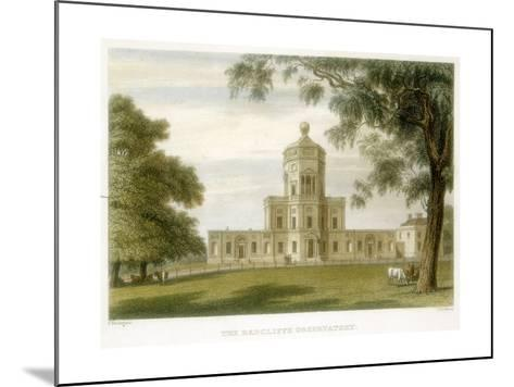 Radcliffe Observatory, Oxford, England, 1834--Mounted Giclee Print