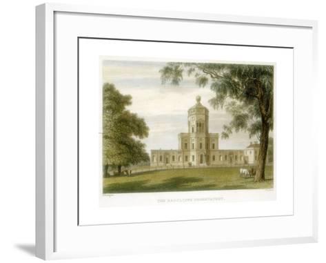 Radcliffe Observatory, Oxford, England, 1834--Framed Art Print