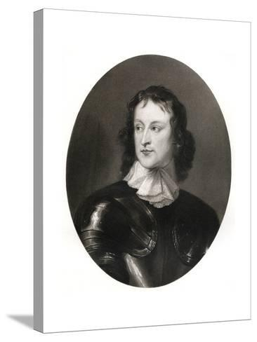 John Lambert, English Soldier, 17th Century-Robert Walker-Stretched Canvas Print