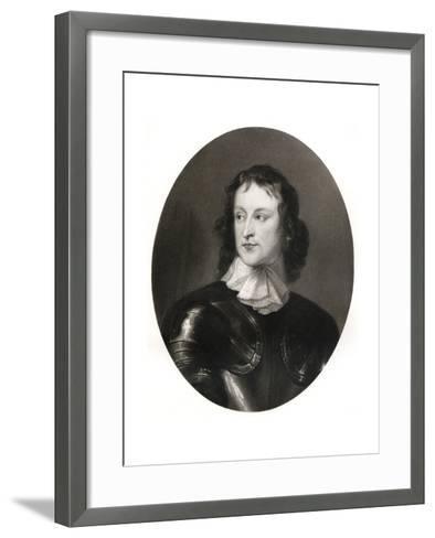 John Lambert, English Soldier, 17th Century-Robert Walker-Framed Art Print