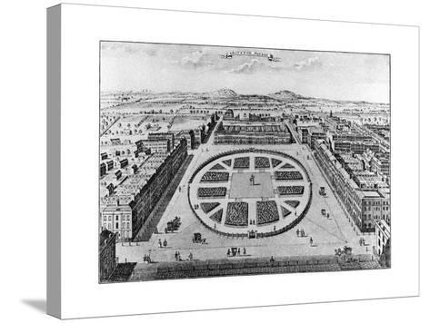 Grovenor Square, London, 18th Century--Stretched Canvas Print