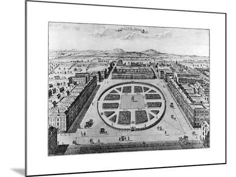 Grovenor Square, London, 18th Century--Mounted Giclee Print