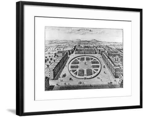 Grovenor Square, London, 18th Century--Framed Art Print