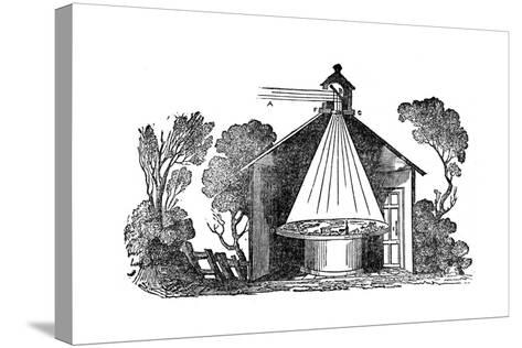Camera Obscura, C1840--Stretched Canvas Print