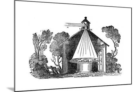 Camera Obscura, C1840--Mounted Giclee Print