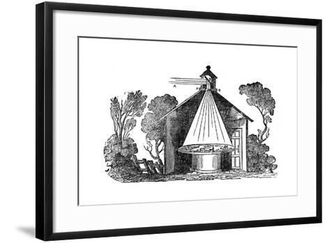 Camera Obscura, C1840--Framed Art Print