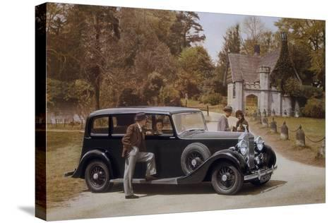 Poster Advertising Rolls-Royce Cars, 1939--Stretched Canvas Print