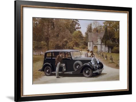 Poster Advertising Rolls-Royce Cars, 1939--Framed Art Print