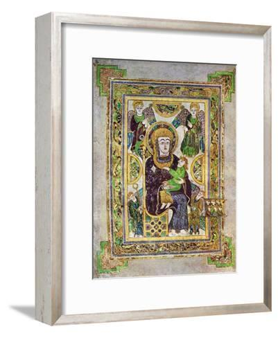 The Virgin and Child, C800 Ad--Framed Art Print