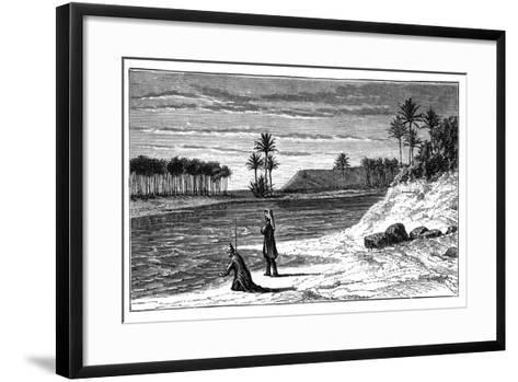 The Banks of the Euphrates, C1890--Framed Art Print
