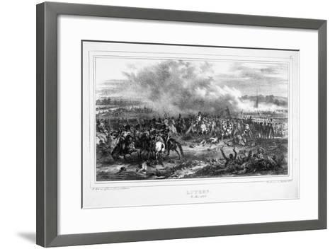 Battle of Lutzen, 2 May 1813--Framed Art Print