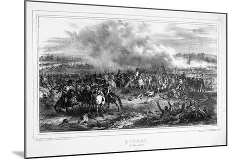 Battle of Lutzen, 2 May 1813--Mounted Giclee Print