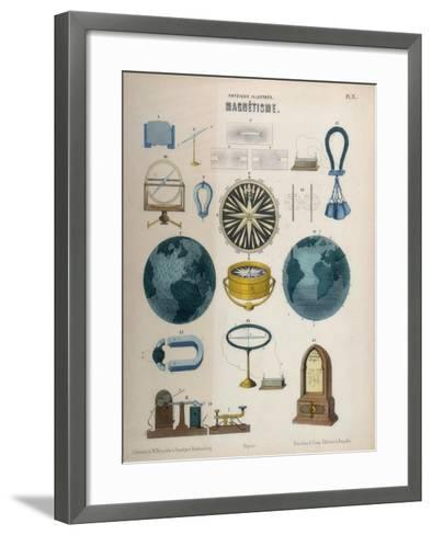 Magnetism, C1850--Framed Art Print