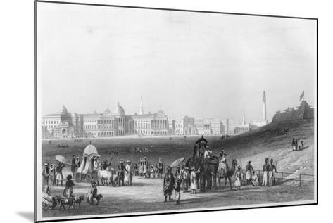 View of Calcutta from the Esplanade, C1860--Mounted Giclee Print