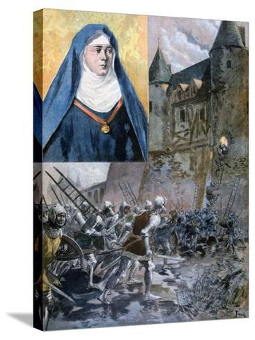 The Sister of Bertrand Du Guesclin, 1894--Stretched Canvas Print