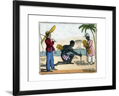 Planting, 1826--Framed Art Print