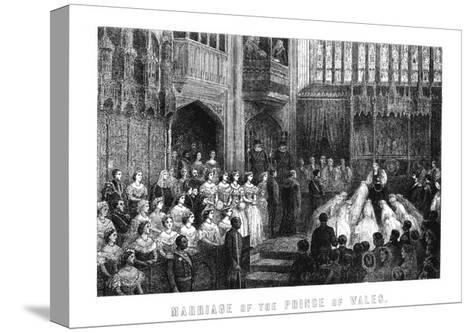 Marriage of the Prince of Wales, St George's Chapel, Windsor on 10 March 1863--Stretched Canvas Print