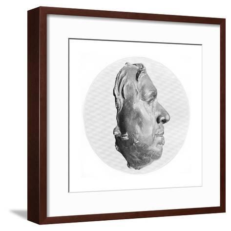 Oliver Cromwell, English Military Leader and Politician--Framed Art Print